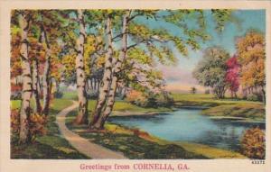 Georgia Greetings From Cornelia 1939