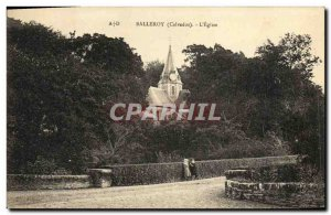 Old Postcard Balleroy The Church