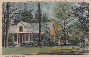 PADUCAH, Kentucky, 1930-1940s; Angels Home Of Vice-President Alben W. Barkley