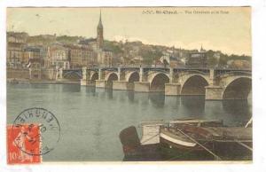 Vue Generale Et Le Pont, St-Cloud (Hauts-de-Seine), France, 1900-1910s