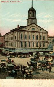 MA - Boston. Faneuil Hall