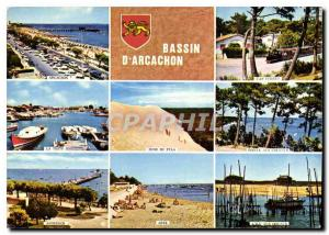 Modern Postcard Arcachon Gironde Cap Ferret La Teste Dune of Pyla Pointe hors...