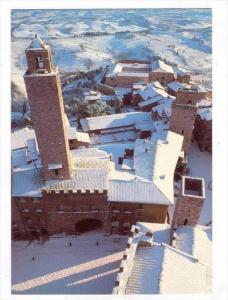San Gimignano (Siena) , Italy , in winter, 50-70s