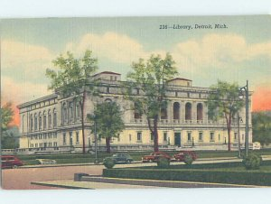 Linen LIBRARY SCENE Detroit Michigan MI AF1550