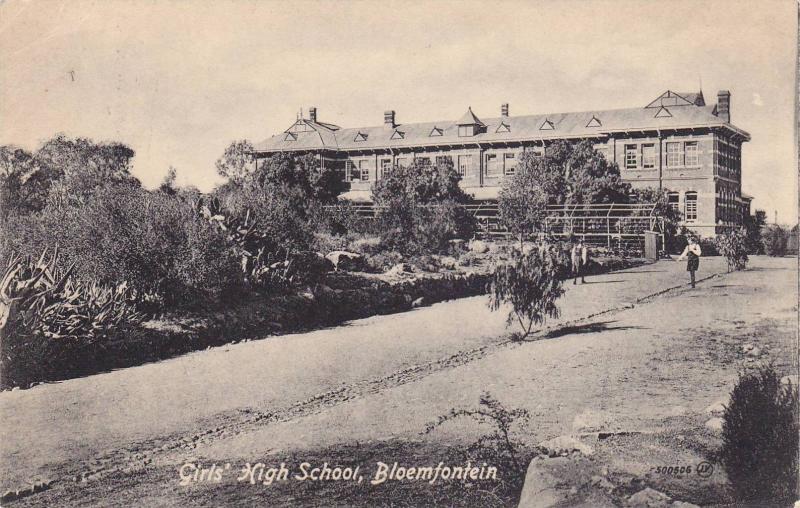 Girls' High School, Bloemfontein, South Africa, PU-1919