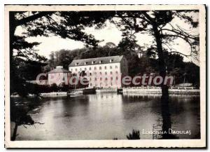 Postcard Modern Brittany Finistere Logonna daoulas in a setting of incomparab...