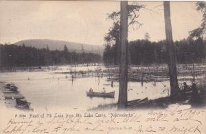 ADIRONDACKS , New York , PU-1905 ; Head of 7th lake from 8th Lake Carry