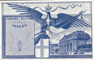 Italy Comando Militare di Stazione Milano 03.41