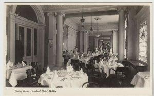 Ireland; Dining Room, Standard Hotel, Dublin RP PPC, Unused, c 1930's