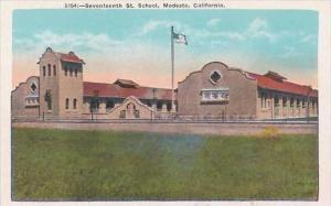 California Modesto Seventeenth Street School