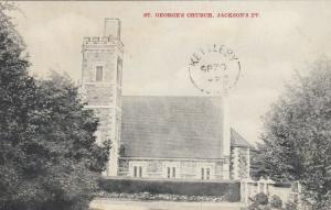 JACKSON'S PT , Ontario , 1909 ; St George Church
