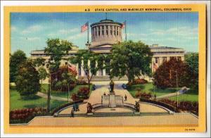 State Capitol & McKinley Monument, Columbus OH