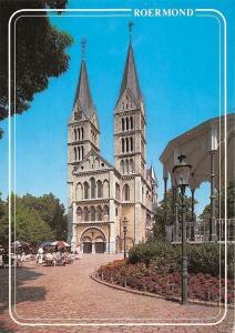 Netherlands Roermond Onze Lieve Vrouwe Munsterkerk Church Terrace Eglise