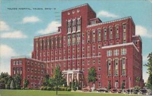 Ohio Toledo Toledo Hospital 1943 Albertype