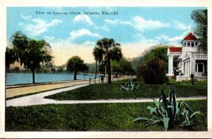 Florida Orlando View On Lucerne Circle