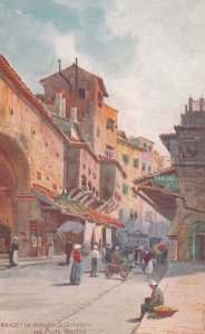 FIRENZE, Toscana, Italy, 1900-1910s; Ponte Vecchio ; TUCK 7988