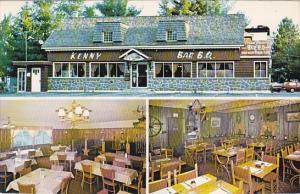 3-Views, Kenny Bar B Q, Rawdon, Province of Quebec, Canada, 40-60s