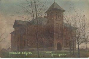 RP: NEW HOLLAND , Ohio , 1908 ; Public School