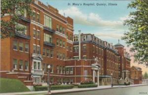 Illinois Quincy St Mary's Hospital Curteich