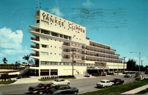 Florida Fort Lauderdale The Yankee Clipper Hotel 1966
