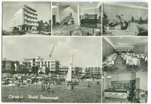 Italy, Italia, HOTEL BEAURIVAGE, Cattolica, 1960 used real photo Postcard