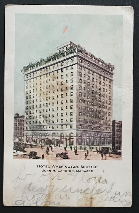 Hotel Washington Seattle 1909