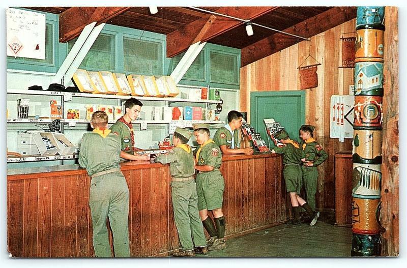 Postcard Boy Scouts America BSA St Louis Area Council