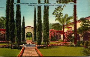 Florida Winter Park Sanctuary Between Knowles Chapel and Annie Russell Theatr...