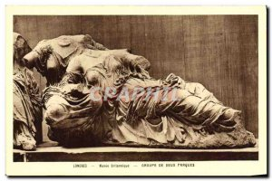 Old Postcard Museum London British Group Two Fates