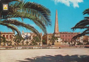 POSTAL 62722 : Isla de Menorca. Ciudadela. Plaza del Generalisimo. España