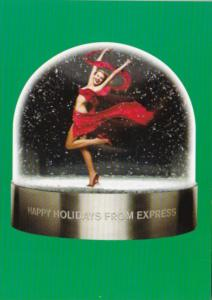 Advertising Happy Holidays From Express World Brand Fashions and Gifts
