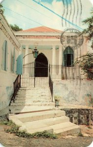 Postcard The Saint Thomas Synagogue Dexter 1962 VPC8.
