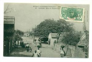 Senegal - DAKAR  Rue de Grammont, PU-1911