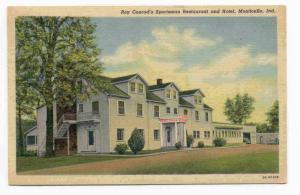 Roy Conrad's Sportsman Restaurant & Hotel, Monticello, Indiana, 1930-1940s