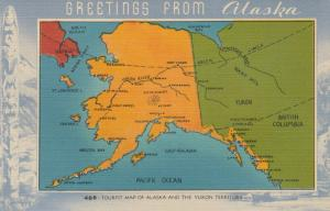Map ,  Alaska , 1930-40s