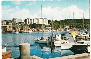 Denmark, Arhus, The Yachting Harbour, used Postcard