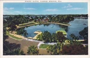 Florida Tarpon Springs Spring Bayou