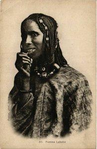 CPA AK Femme Lahobe SENEGAL (821855)