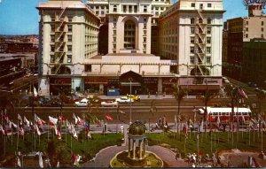 California San Diego U S Grant Hotel and Downtown Plaza