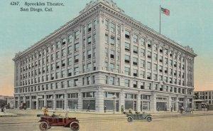 SAN DIEGO, California, 1900-10s; Spreckles Theatre