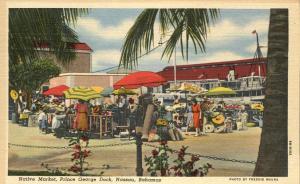 Native Market at Prince George Dock - Nassau, Bahamas - Linen