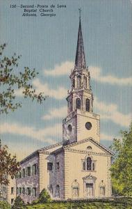 Second Ponce De Leon Baptist Church Atlanta Georgia