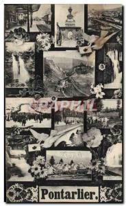 Old Postcard Pontarlier