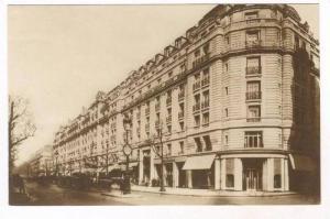 RP  Paris ,France, Hotel  Ambassador  Facade, 00-10s