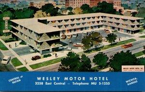 Kansas Wichita Wesley Motor Hotel East Central