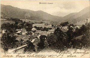 CPA MOUSSEY - Vue générale avec la Vallée (455597)