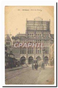 Orleans Postcard Old Hotel Post