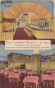 The Covered Wagon Saint Paul Minnesota 1950