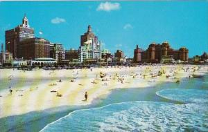 The Famous Beach And Centrol Skyline Atlantic City New Jersey