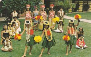 MAUI, Hawaii, PU-1988; Hula Show Cast, The Napili Kai Beach Club Hotel